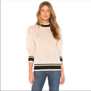LOVERS + FRIENDS NWT Montclair Mockneck Sweater S